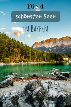 The (for me) 4 most beautiful lakes in Bavaria! - Sophia& world- My 4 most beautiful lakes in Bavaria! – Königsee, Chiemsee, Eibsee and Walchensee. Merida, Business Travel, Outdoor Travel, Touring, Travel Guide, Traveling By Yourself, Travel Destinations, World, Pictures