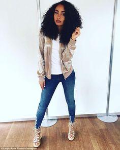 Those casual Metallic Gold Days ? (Little Mix Style) Little Mix Outfits, Little Mix Style, Cute Outfits, Dvb Dresden, Little Mix Leigh Ann, Leigh Anne Pinnock Instagram, Moda Afro, Litte Mix, Bae