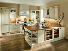 Wundervoll Kücheninsel Mit Großem Herd Und Seitenregal | Küche | Pinterest | Kitchens,  House And Interiors