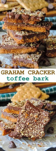 Bark candy recipes with graham crackers