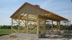 genehmigungsfreie halle laumer kuhstall in 2019 halle bauen halle und garage hobbyraum