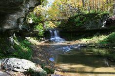 Cascades Falls, Glen Helen Nature Preserve, Yellow Springs, Ohio