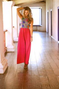 Luisa Meirelles para Avonts Rio #gypsy #boho #avonts #summer #kimono #fashion #editorial #cartagena #avonts #luisa meirelles #bohemian #dress #vestido #longo #pink