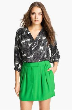 DVF Cahil stretch #blouse