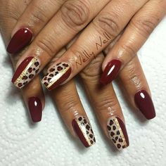 186 Mejores Imágenes De Animal Print Nails Animal Patterns Animal