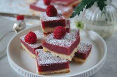 HALLONRUTOR - Fika, Food Cakes, Tart, Cake Recipes, French Toast, Raspberry, Cheesecake, Sweets, Cookies