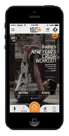 Women'sClub90 - W.I.P iOS App by Avis Manoj, via Behance