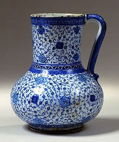 turco-iznik-cerámica-jarra