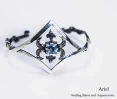 Ariel by Karasu Jewellery Ariel, Heart Ring, Jewelery, Sapphire, Rings, Jewelry, Jewels, Bijoux, Schmuck