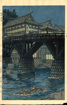 Uzen-Akakura, by Kasamatsu Shiro, 1954