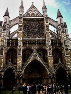 Westminster Abbey, place of marriages, funerals, coronations and holder of antiquities.  Loved Poet's Corner