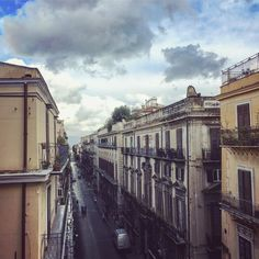 #r Beauty on a RainyDay.. . #beauty #beautiful #rainyday #rain #picoftheday #street #rooftop #winter #mood #sicily #naturelovers #nature #architecture #cityscape #citycenter #cloudporn #clouds #freshair