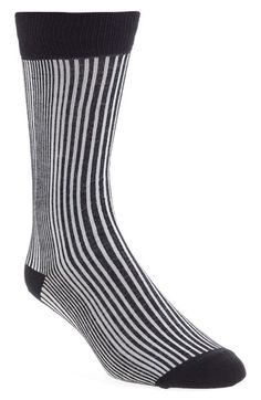 Free shipping and returns on Topman Pinstripe Cotton Blend Socks (Brit Pop-In) at Nordstrom.com. Two-tone stripes put a graphic spin on soft, stretchy cotton-blend socks.