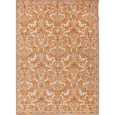 Jaipur Hand-tufted Pattern Orange/ Area Rug