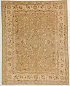 7.11x10' Multi Peshawar Rug With Borders Earthy tones and multiple borders highlight the unique characteristics of this Peshawar rug. The in...