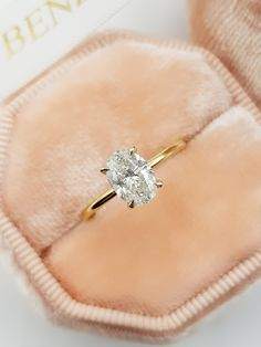 Details about  /18k White Gold Finish Round Moissanite Diamond Engagement Ring 1.0CT 6.5mm