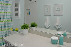 The Kid's Brand New Bathroom Reveal