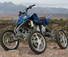 Leaning Suspension ATV