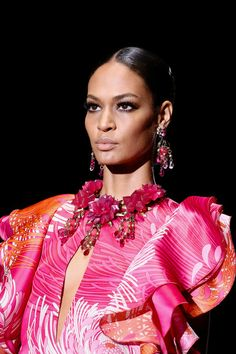Big earrings woah.  Gucci Spring 2013 Ready-to-Wear Collection Slideshow on Style.com