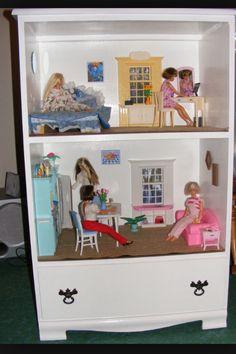 Old dresser idea....