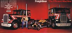 Overdrive Magazine Trucks | Photo: April 1977 Freightliner Ad | 04 Overdrive…