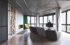 """Loft by """"MARTINarchitects"""" on Behance"""