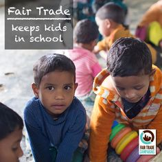 DID YOU KNOW: #FairTrade workers have the ability to provide daycare for their children? #empowerment