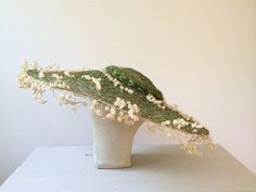 vintage hat / vintage sun hat / Lilly of the by nocarnations, $128.00