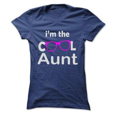 (Tshirt Deal Today) Im The Cool Aunt [Tshirt design] Hoodies, Funny Tee Shirts