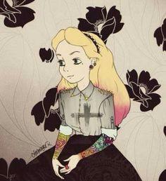 Princesa moderna Wallpaper
