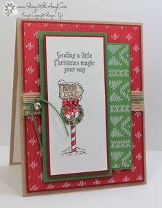 Stampin' Up! Christmas Magic North Pole Card – Stamp With Amy K