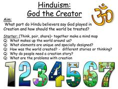 Hinduism - SoW and activities, An Introduction ks3