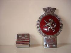 Vintage Enamel Car Badge by J.R. Gaunt, London (07/24/2015)