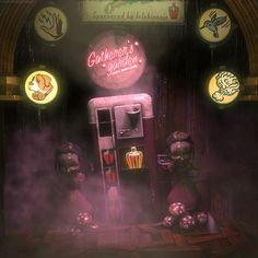 Bioshock Rapture, Bioshock Game, Bioshock Series, Bioshock Infinite, Video Game Art, Video Games, Fallout New Vegas, Fallout 3, Underwater City