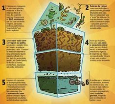 Composting with worms Composting 101, Composting Toilet, Garden Compost, Vegetable Garden Design, Urban Farming, Green Life, Hydroponics, Organic Gardening, Garden Landscaping