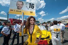 Chica de la parrilla, Timo Glock, BMW Team RMG, BMW M4 DTM