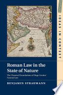 Roman Law in the State of Nature offers a new interpretation of the foundations of Hugo Grotius' natural law theory. Surveying the significance of texts from classical antiquity, Benjamin Straumann argues that certain classical texts, namely Roman law and a specifically Ciceronian brand of Stoicism, were particularly influential for Grotius in the construction of his theory of natural law. The book asserts that Grotius, a humanist steeped in Roman law, had many reasons to employ Roman…