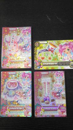 "Trading card of Japanese Idol Animation ""AIKATSU"" Premium Angel alice coord"