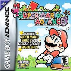 2 Gameboy Advance GBA SP DS Super Mario Advance & Super Mario Kart