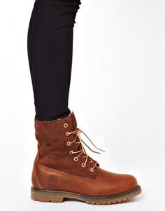 Image 3 of Timberland Authentics Teddy Fleece Fold Down Lace Up Boot
