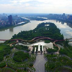 Andrew Buck of Turenscape discusses the flood-resistant topography of the Chinese landscape firm's award-winning wetland park in Jinhua, China