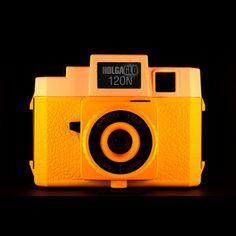 HolgaGlo 120N Orange Burst now featured on Fab.
