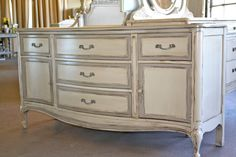 Beautiful French Provincial dresser... would be great as a changing table/dresser in a nursery! #casualchiccorner on etsy
