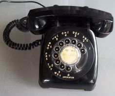 Vintage Rotary Dial Phone made by Automatic by VintageCoolETC, $35.00
