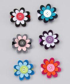 geneva Diva - felt flowers