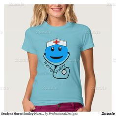 Student Nurse Smiley Nurse T-Shirt