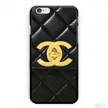 Black Gold Chanel Bag Photo Image inspiret iPhone Cases Case