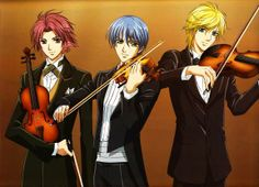 La Corda D'Oro, because violins are freaking awesome!