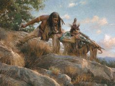 LOW NUMBER - Morgan Weistling - Lakota Hunters - Signed Giclee Canvas #Realism