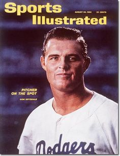 SI Cover Don Drysdale